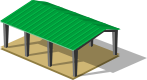 Асимметричный ангар